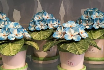 Hand Painted Ceramic Flowers